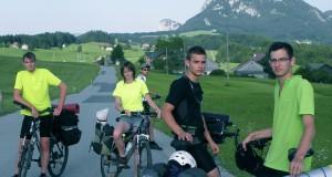 820 km on two wheels