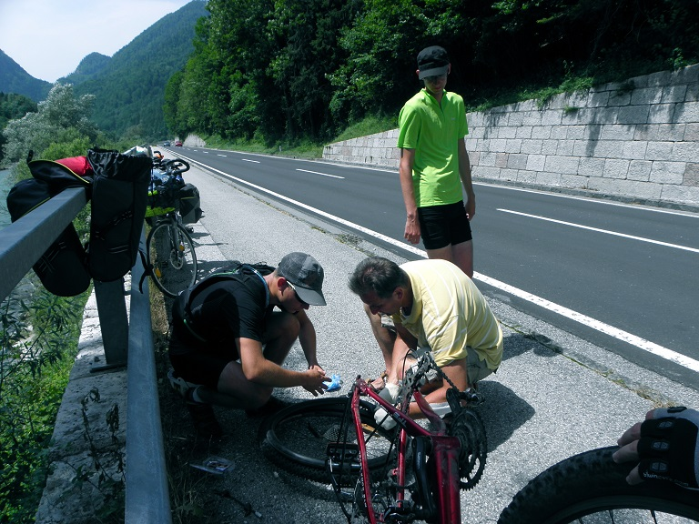 Fixing a puncture