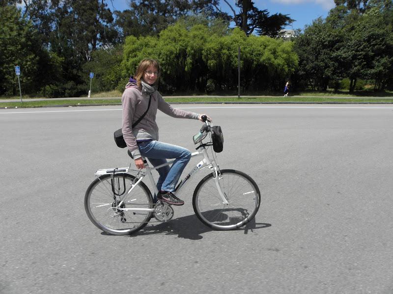 Using the bike in New York