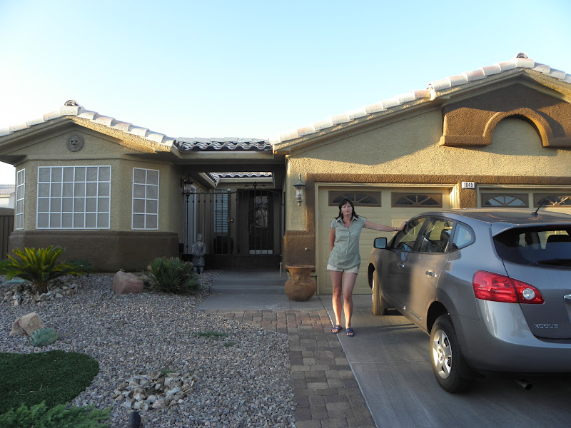 Where we stayed for a week in Las Vegas