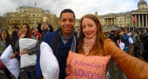 Pillow fight London 2015