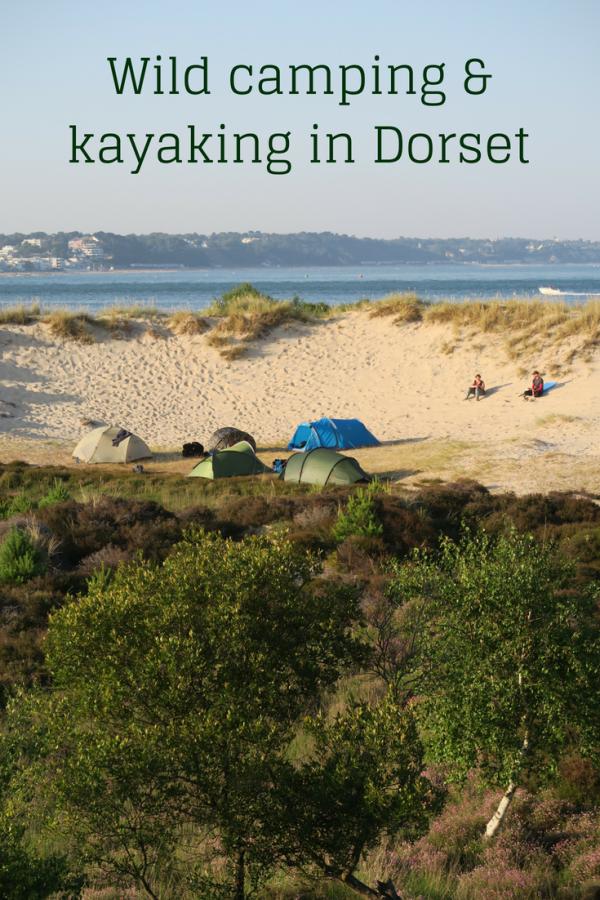 Wild camping kayak trip in Dorset | Travel Hacker Girl