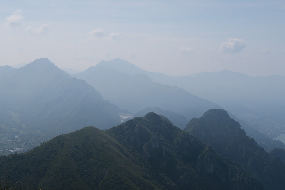 View from Corna Trentapassi. You can see Monte Vignole