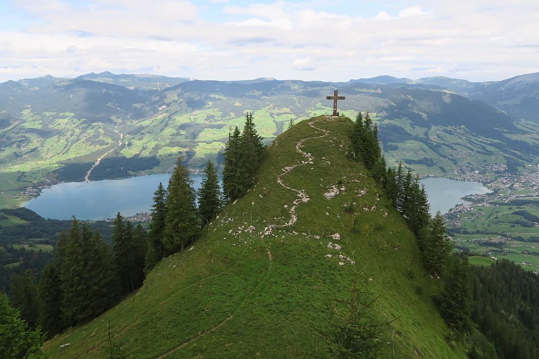 Stuckli Kreuz from the top