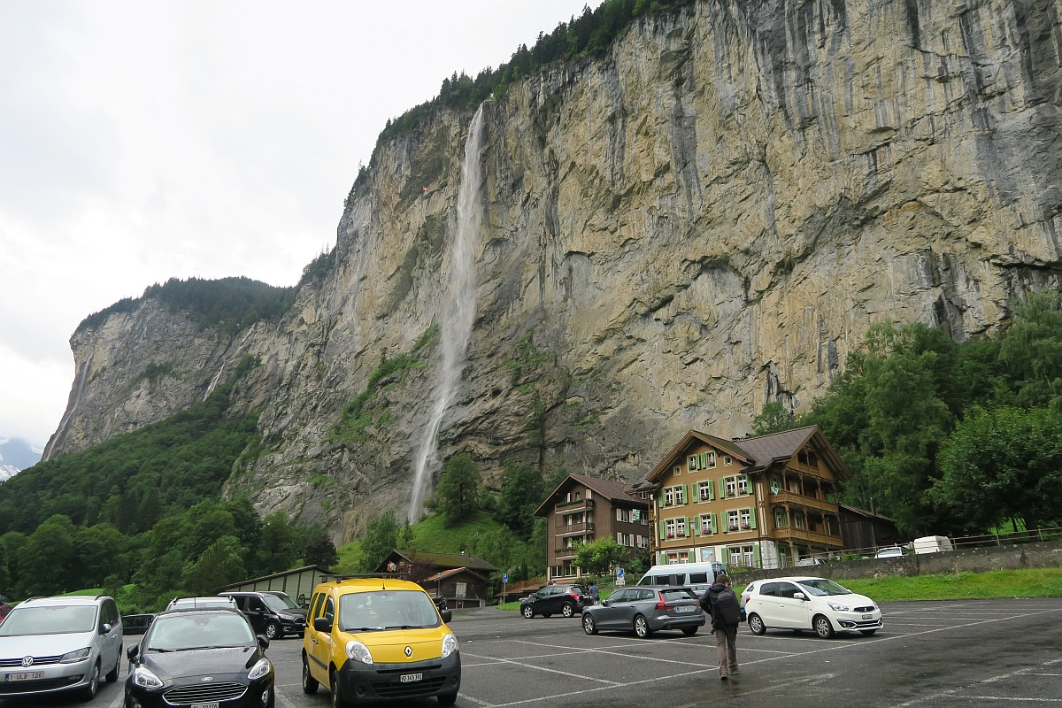 Kirchenparkplatz - Lauterbrunnen parking