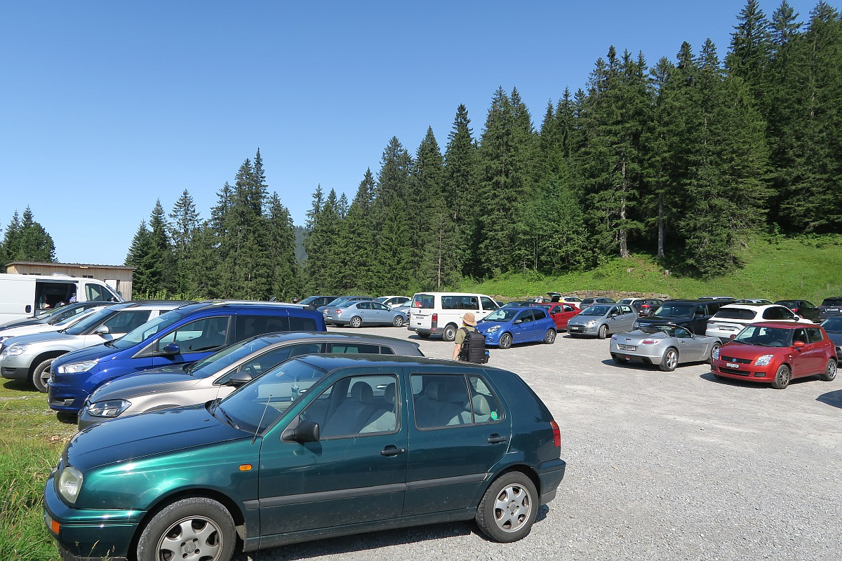 Glaubenberg parking