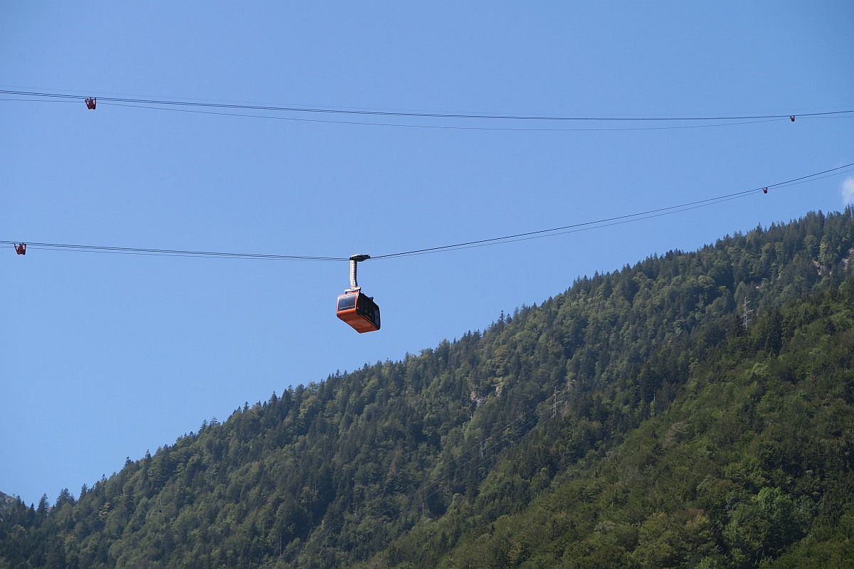Lungern - Turren cable car