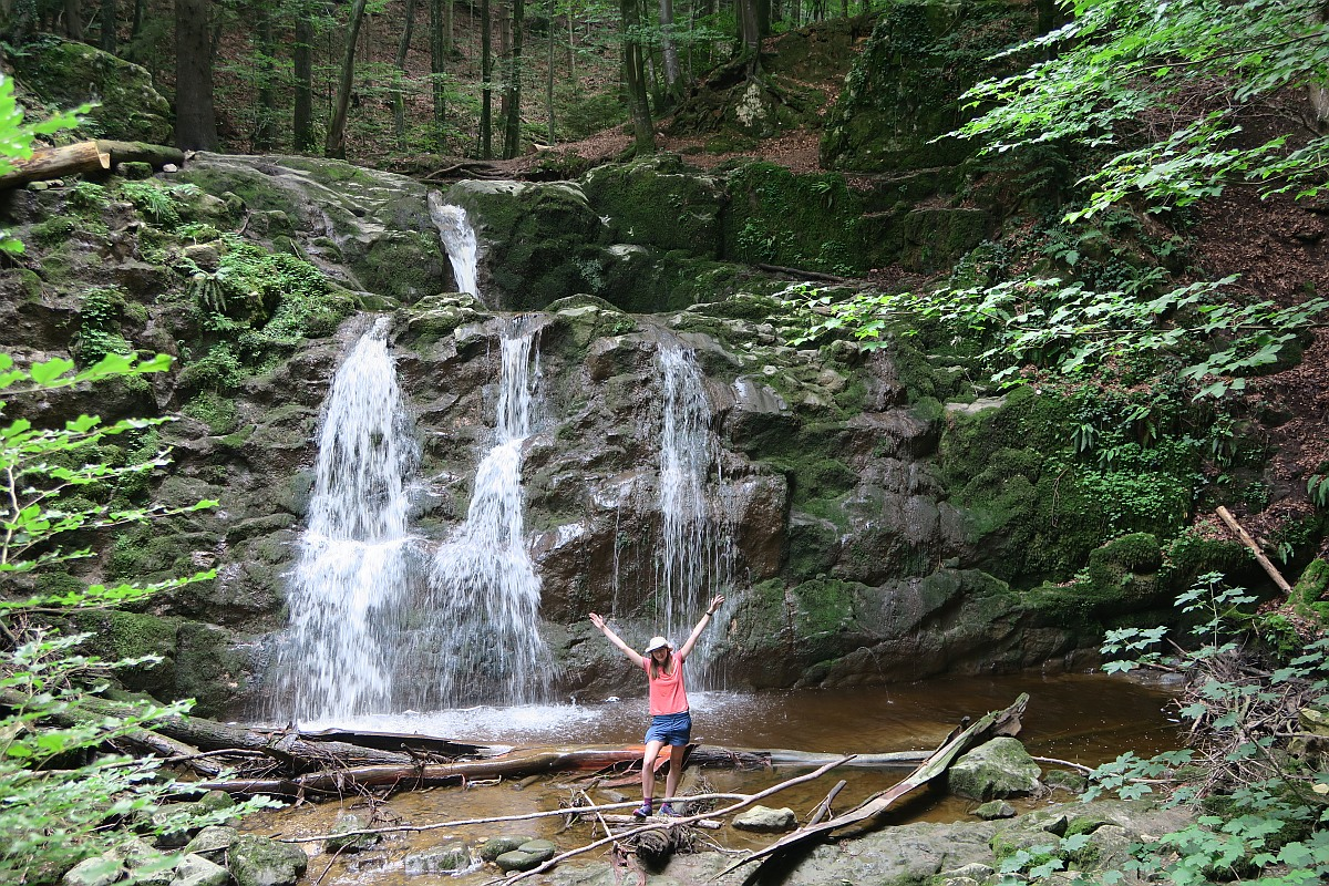 Wildkar Wasserfall
