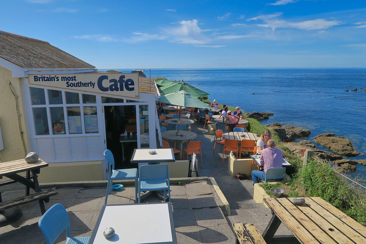 Britain'smost Southerly Cafe