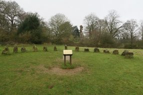 Sundial at Rushmere Country Park