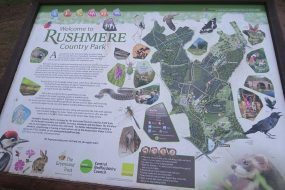 Rushmere Country Park map