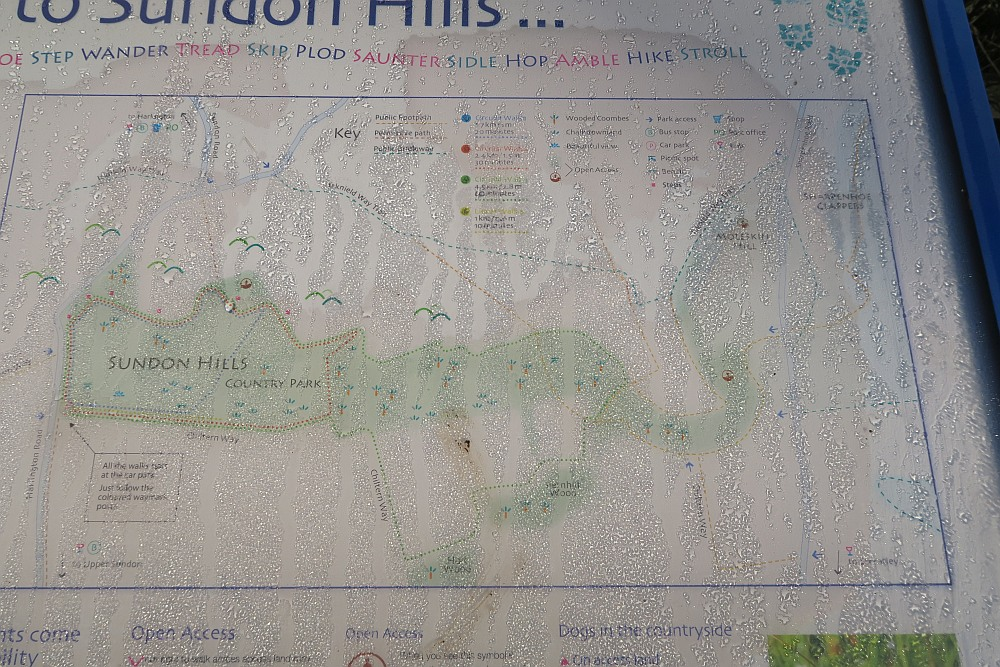 Sundon Hills Country Park Map