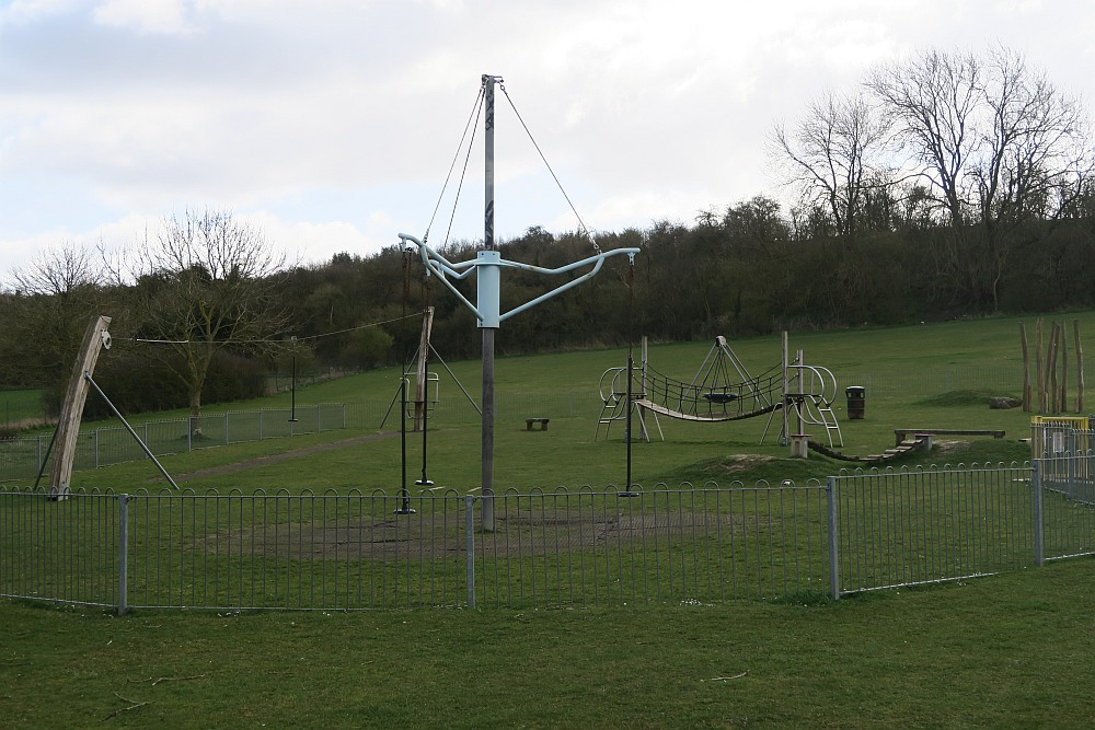 Playground at Mentmore Park Car Park